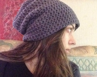 Simple Slouchy Beanie