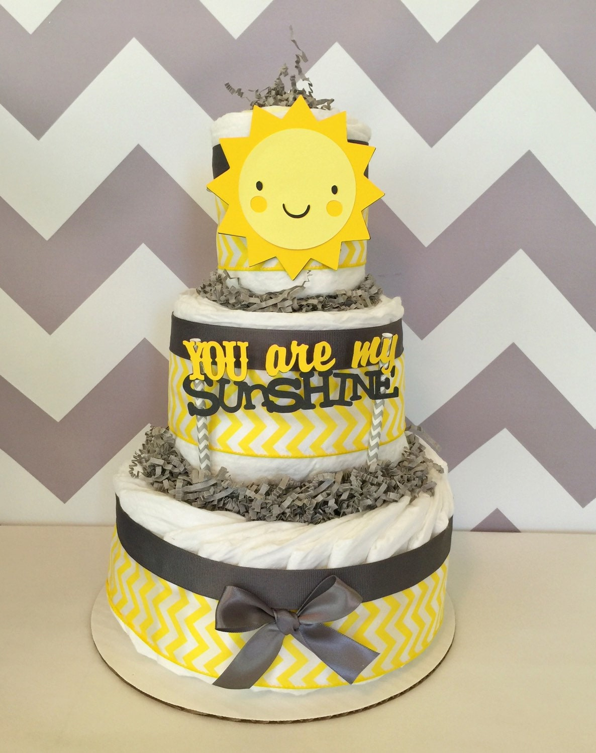 you are my sunshine baby shower centerpiece