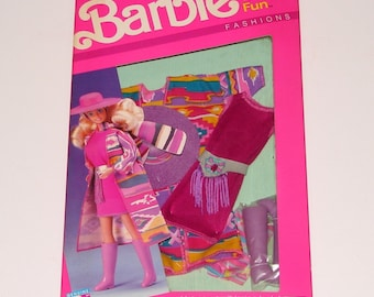 1989 NRFB Barbie Western Fun Fashion 9950 by Mattel
