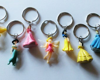 YOU PICK Princess Keychain