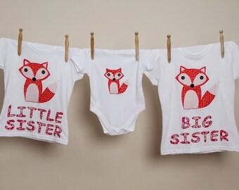 Appliqued fox onesie, fox bodysuit, personalised fox bodysuit, baby onesie, baby boy bodysuit, new baby gift, baby fox bodysuit