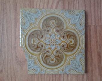Chipped Italian Sassuolo tile