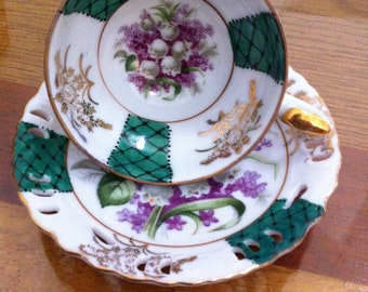 Bone China Demitasse Cup and Saucer