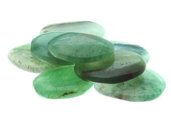 Green Aventurine Gift Palm Stone (3 Pack)