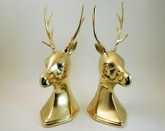 Antler bookends etsy - Deer antler bookends ...