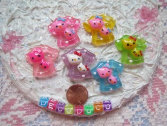 0: )- CABOCHON -( Rainbow Hello Kitty Tshirt