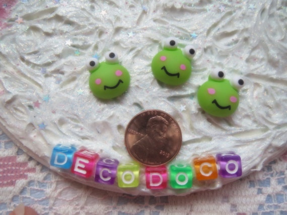 0: )- CABOCHON -( Rainbow Frogs