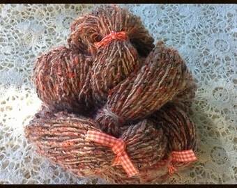 HANDSPUN TWEED YARN