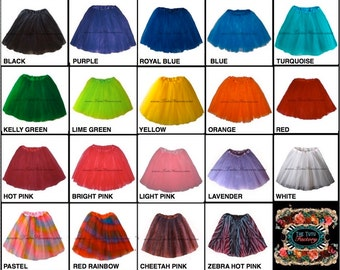 ADULT TUTU . Girls to Adult Plus Size Tutu . Adult Tutu . Ballet Tutu . Dance Skirt . LONG Length 16in