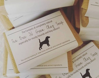 The *best* dog soap for getting rid of fox poop!