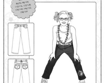 "Basic jeans kids ""Henri"" pattern"