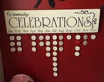 Family Birthday Board : Family celebrations