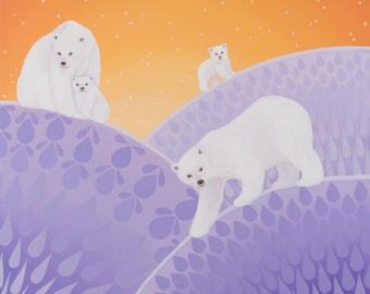 Polar Bears fine art print
