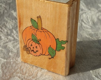 Jack O Lantern Rubber STamp by Canadian Maple Collection, PUmpkin rubber stamp, pumpkin stamp, Halloween Stamp, Halloween Rubber Stamp