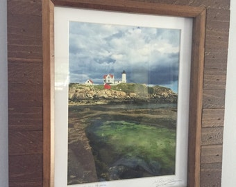 Colors of the Nubble framed 8x10