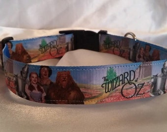 Handmade Wizard of Oz Dog Collar-Matching Lead Available