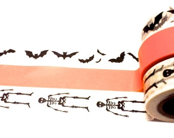 Halloween Washi Tape Set, Washi Tape, Halloween Tape, Planner Washi, Party Decorations