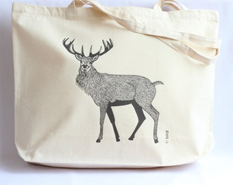 Red Stag Canvas Shopper