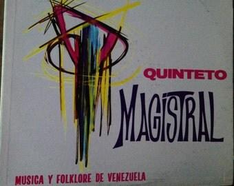 Quintero Magistral - Musica Y Folklore De Venezuela - vinyl record