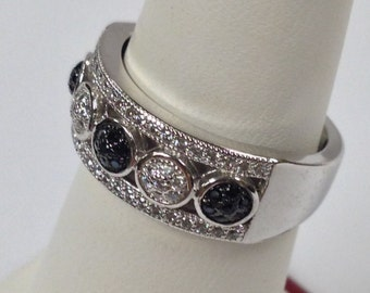 Sterling Silver Cubic Zirconia Stone Ring
