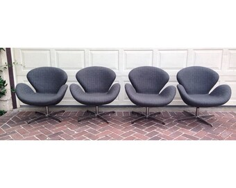 Swan Chairs by Arne Jacobsen                              New Years Sale!!!