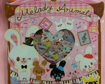 KAWAII Cute Sticker Flakes Sack 52 pcs