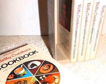 Vintage 70s Betty Crocker Cook Book Set