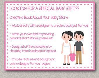 Customized Book ~ Design a Book About Your Own Baby Story!