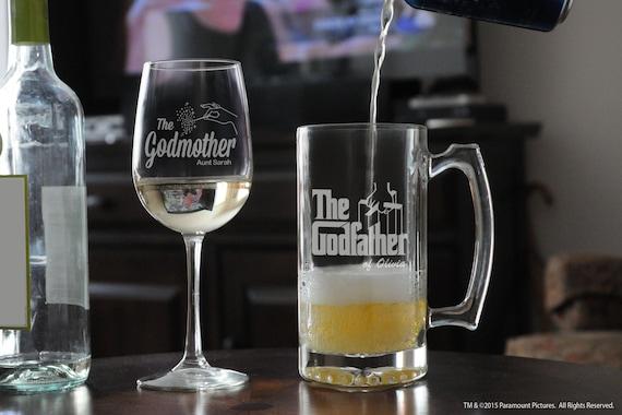 Godmother Wedding Gift: Christening Gift For Godfather & Godmother Baptism Gift For
