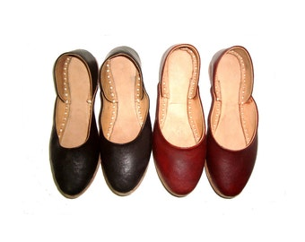 STYLIST LEATHER SHOES,Handmade leather shoes,traditional shoes,winter shoes,Leather shoes for women,Stylist leather shoes,designer shoes