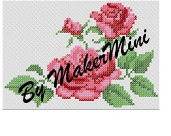 More Roses - Cross Stitch Pattern