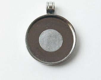 "Magnetic Pendant Tray 1"" Blank"