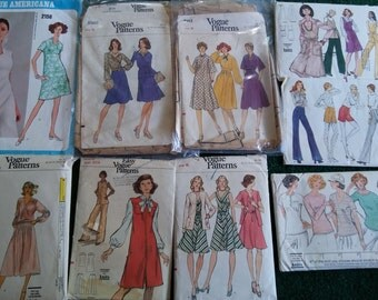 Vintage Vogue Patterns from the 1970s