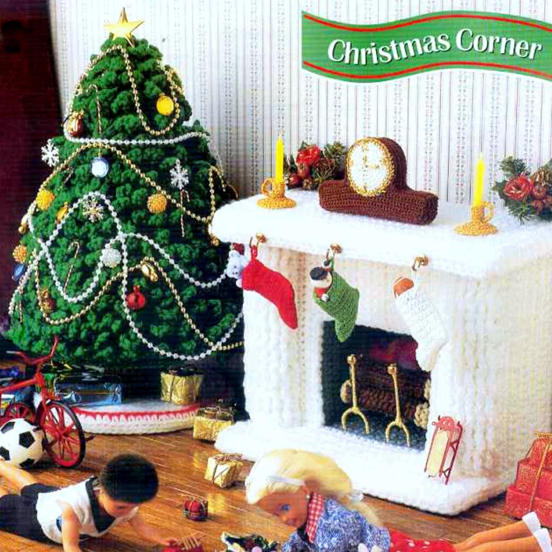 Vintage Crochet Pattern PDF Fashion Doll Home Decor Christmas