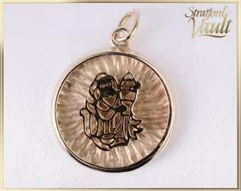Vintage ~ Monkey Zodiac Medallion / Pendant ~ 14k Yellow Gold ~ SV_004 ~ 500.00