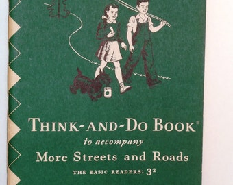 1946 Think-And-Do Book To Accompany More Streets and Roads 3(2)