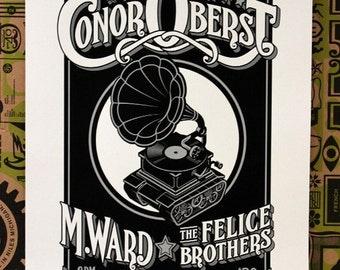 Conor Oberst Poster - Phoenix Theatre Petaluma California