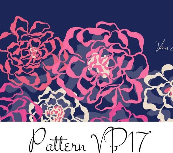 Vera Bradley Inspired Vinyl Pattern Vb17 By Southernideology