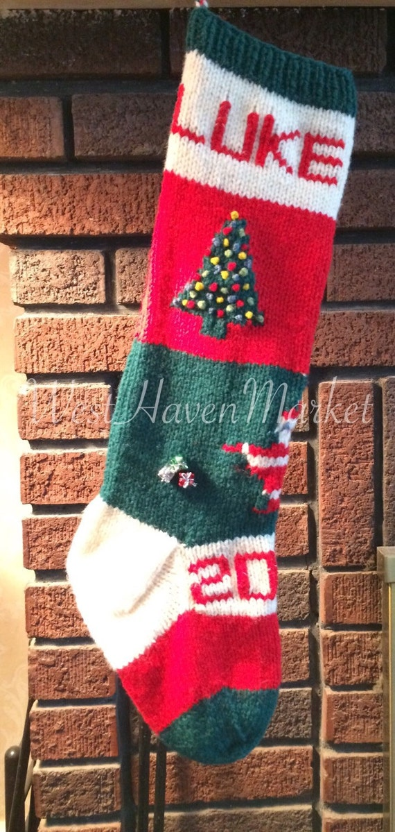 Christmas Stocking Knitting Patterns