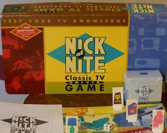 Nick at Nite Classic TV Trivia Game (1996)
