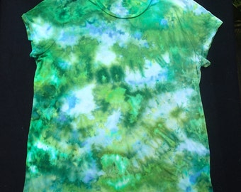 Women's Extra-Large Ice-Dyed T-Shirt