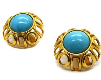 VALENTINO, important and rare earrings