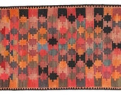 Antique Kilim Rug 100% Wool from Persian/Iran 20-50 years old