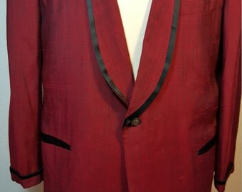 FREE  SHIPPING   1950  Dinner  Jacket