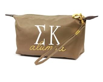 SK Sigma Kappa Alumna Custom Sorority Wristlet