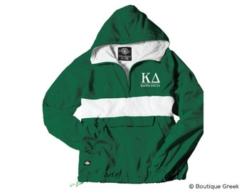 KD Kappa Delta Classic Letters Anorak Jacket