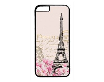 New Retro Postcard Paris Eiffel Tower Hot case for iPhone 4 4s 5 5s  5C 6 6s 6 Plus 7 7 Plus iPod Touch 4 5 6 case Cover