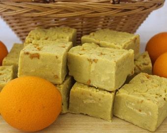 Orange Zest Soap/Orange Soap/Natural Orange Soap/Natural Citrus Soap/Refreshing Orange Soap/Refreshing Citrus Soap/Citrus Soap/Zesty Citrus