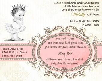 "Babyshower invitation  ""It's a Girl"""