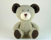 Amigurumi Bear, Little Bear, Crochet Teddy Bear, Baby Bear, Plush Bear, Mini Amigurumi, Baby Safe Toy